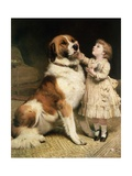 Tender Loving Care Giclee Print by Charles Burton Barber