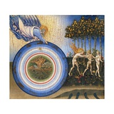 The Creation of the World and the Expulsion from Paradise Giclée-tryk af Giovanni di Paolo