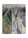 Scène De Rue À Paris (Street Scene in Paris) Giclee Print by Maximilien Luce