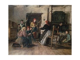 Palm Sunday Giclee Print by Ferdinand Georg Waldmuller