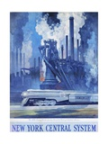 New York Central System Poster Giclee Print by Leslie Ragan