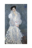 Portrait of Hermine Gallia Giclee Print by Gustav Klimt