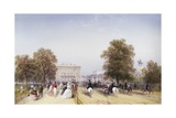 High Society, Rotten Row, Hyde Park Giclee Print by Carlo Bossoli