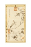 A Phoenix Standing on a Chinese Parasol Tree Giclee Print by Empress Dowager Cixi