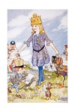 Alice and Her Friends Giclee Print by Charles Folkard