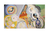 Air, Fire and Water Giclee Print by Robert Delaunay