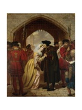 Sir Thomas Moore's Farewell to His Daughter Giclee Print by Edward Matthew Ward