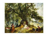 A Trip to the Country Giclee Print by Alfred Joseph Woolmer