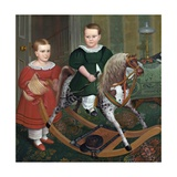 The Hobby Horse Giclee Print by Robert Peckham