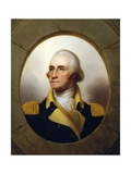 George Washington (Porthole Portrait) Giclee Print by Rembrandt Peale