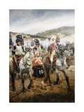A Scene in the Napoleonic War Giclee Print by Richard Caton Woodville II