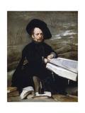 The Jester Don Diego De Acedo Gicléedruk van Diego Velázquez