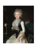Portrait of Madame Zouboff Giclee Print by Jean Louis Voille