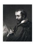 Correggio Engraving Giclee Print by Henry Meyer