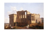 The Temple of Minerva, Athens, Greece Giclee Print by Landelot-Theodore Turpin De Crisse