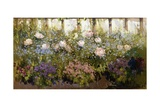 Herbacious Border Giclee Print by Patrick William Adam