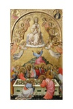 The Assumption of the Virgin Giclee Print by Paolo Di Giovanni Fei