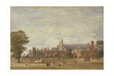 Eton College from College Field Giclee Print by George Pyne