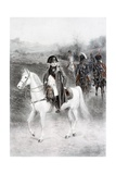 Napoleon Bonaparte on Horseback Giclee Print by Jan Van Chelminski