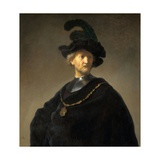 Old Man with a Gold Chain Giclee Print by  Rembrandt van Rijn