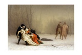 The Duel after the Masquerade Giclee Print by Jean Leon Gerome