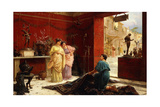 Selling His Wares Giclee Print by Ettore Forti