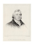 Portrait of Samuel Taylor Coleridge Giclee Print by Henry Hoppner Meyer