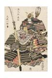 Genkuro Yoshitsune and Musashibo Benkei Giclee Print by Utagawa Toyokuni