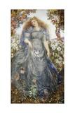 The Flower Maiden Giclee Print by Henry John Stock
