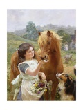 A Sweet Tooth Giclee Print by Alfred William Strutt