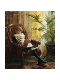 A Quiet Read Giclee Print by Alfred Augustus Glendening II