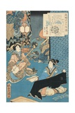 Tale of the Courtesan Komurasaki Giclee Print by Utagawa Toyokuni