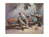Morning, Interior Giclee Print by Maximilien Luce
