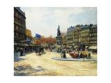 Place Clichy, Paris Giclee Print by Carlo Brancaccio