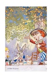 A Mad Teaparty Giclee Print by Charles Folkard