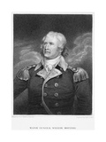 Major General William Moultrie Giclee Print by Edward Scriven