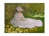 Springtime Giclee Print by Claude Monet