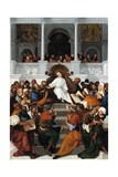 The Twelve-Year-Old Jesus Teaching in the Temple Giclee Print by Ludovico Mazzolino