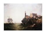 Moro Castle, Cuba Giclee Print by James Wilson Carmichael