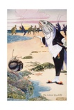 The Lobster Quadrille Giclee Print by Charles Folkard