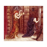 Hope in the Prison of Despair Giclee Print by Evelyn De Morgan