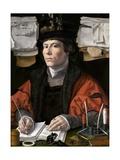 Portrait of a Merchant Giclee Print by Jan Gossaert
