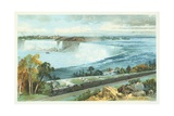 Niagara Falls from Michigan Central Train Poster Giclee Print by Charles Graham