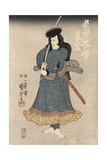 An Actor in the Role of Osadanotaro Nagamune Giclee Print