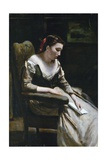 The Letter Giclee Print by Jean-Baptiste-Camille Corot