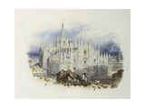 Milan Cathedral, Italy Giclee Print by Myles Birket Foster