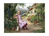 In the Garden Lámina giclée por Yeend King