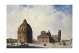 A View of Pisa, Italy Giclee Print by Hubert Sattler