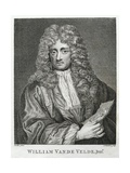 William Van De Velde, Junr. Giclee Print by Godfrey Kneller
