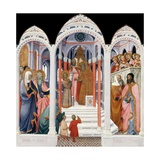 The Presentation of the Virgin Giclee Print by Paolo Di Giovanni Fei